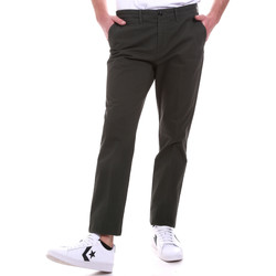 textil Herr Chinos / Carrot jeans Navigare NV55187 Grön