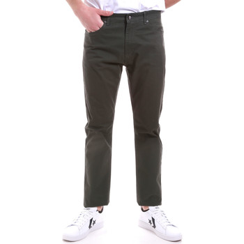 textil Herr Chinos / Carrot jeans Navigare NV53090 Grön
