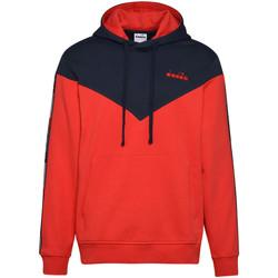 textil Herr Sweatshirts Diadora 502176426 Blå