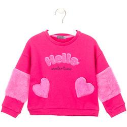 textil Flickor Sweatshirts Losan 026-6023AL Rosa