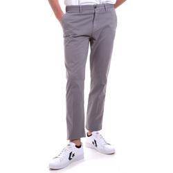 textil Herr Chinos / Carrot jeans Navigare NV55197 Grå