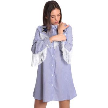 textil Dam Korta klänningar Denny Rose 811DD10018 Blå