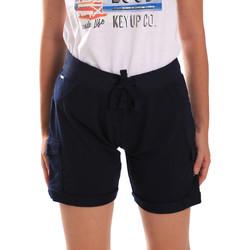 textil Dam Shorts / Bermudas Key Up 5G75F 0001 Blå