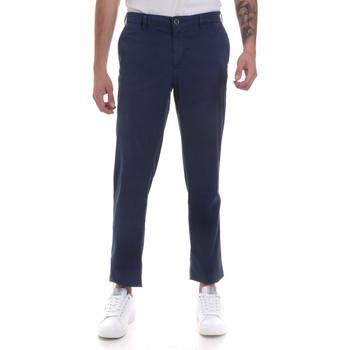 textil Herr Chinos / Carrot jeans Navigare NV55183 Blå