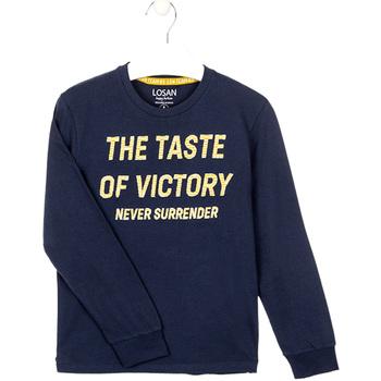 textil Pojkar Sweatshirts Losan 023-1007AL Blå