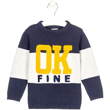 textil Pojkar Tröjor Losan 025-5003AL Blå