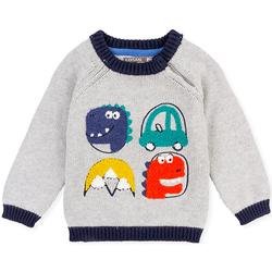 textil Barn Tröjor Losan 027-5004AL Grå