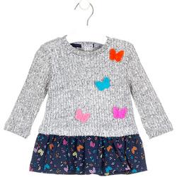 textil Flickor Korta klänningar Losan 028-7015AL Grå