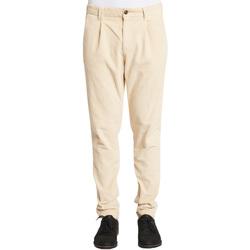 textil Herr Chinos / Carrot jeans Gaudi 021GU25017 Vit