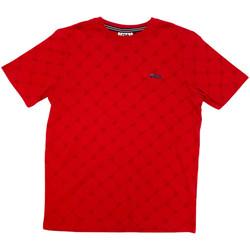 textil Barn T-shirts Fila 688084 Röd