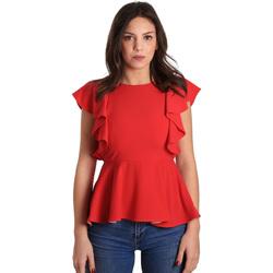 textil Dam Blusar Gaudi 811FD45001 Röd