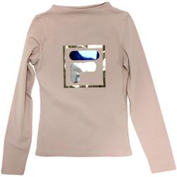 textil Barn Långärmade T-shirts Fila 688102 Beige