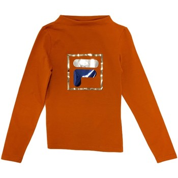 textil Barn Långärmade T-shirts Fila 688102 Orange