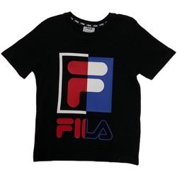 textil Barn T-shirts Fila 688149 Blå