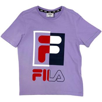 textil Barn T-shirts Fila 688149 Rosa