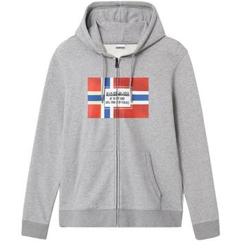 textil Herr Sweatshirts Napapijri NP0A4EN7 Grå