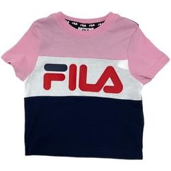 textil Barn T-shirts Fila 688023 Rosa