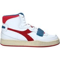 Skor Herr Höga sneakers Diadora 501174766 Vit