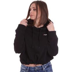 textil Dam Sweatshirts Fila 687992 Svart