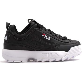 Skor Barn Sneakers Fila 1011082 Svart