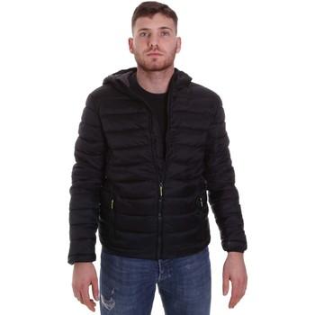 textil Herr Täckjackor Lumberjack CM95222 001 416 Svart