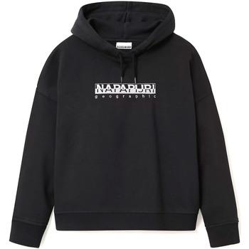 textil Dam Sweatshirts Napapijri NP0A4EOF Svart