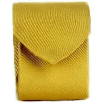 textil Herr Slipsar och accessoarer Michi D'amato CRAVATTA 002 Yellow