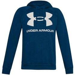 textil Herr Sweatshirts Under Armour Rival Fleece Big Logo HD Grenade