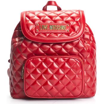 Väskor Dam Ryggsäckar Love Moschino  Röd