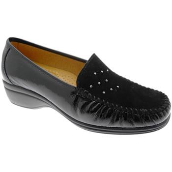 Skor Dam Loafers Calzaturificio Loren LOK4020ne nero