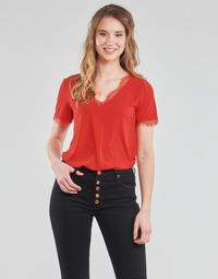 textil Dam Blusar Moony Mood  Röd