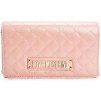 Väskor Dam Axelremsväskor Love Moschino  Rosa