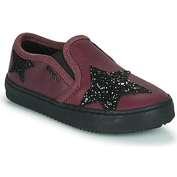 Skor Flickor Sneakers Geox J KALISPERA FILLE Violett