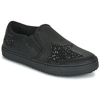 Skor Flickor Sneakers Geox J KALISPERA FILLE Svart