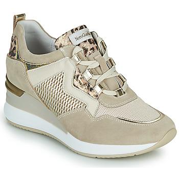 Skor Dam Sneakers NeroGiardini DARKO Beige