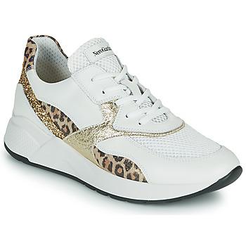 Skor Dam Sneakers NeroGiardini FIDEL Vit / Leopard