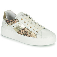 Skor Dam Sneakers NeroGiardini MANO Vit / Leopard