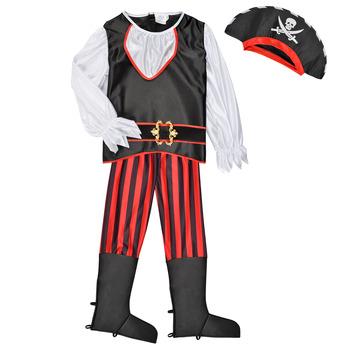 textil Pojkar Förklädnader Fun Costumes COSTUME ENFANT PIRATE TOM Flerfärgad