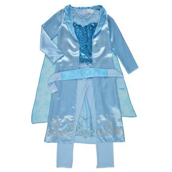 textil Flickor Förklädnader Fun Costumes COSTUME ENFANT PRINCESSE DES NEIGES Flerfärgad