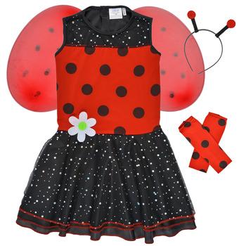 textil Flickor Förklädnader Fun Costumes COSTUME ENFANT BIRDIE BEETLE Flerfärgad