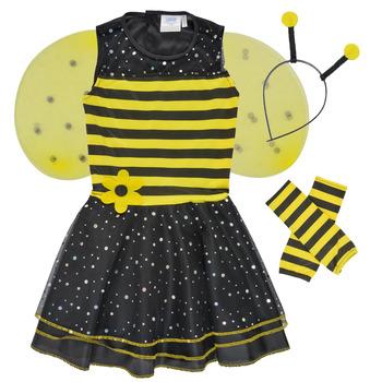 textil Flickor Förklädnader Fun Costumes COSTUME ENFANT BEE BEE Flerfärgad