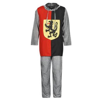 textil Herr Förklädnader Fun Costumes COSTUME ADULTE SIR GAWAIN Flerfärgad
