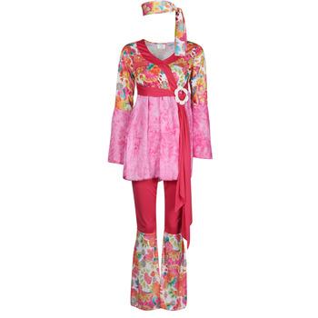 textil Dam Förklädnader Fun Costumes COSTUME ADULTE HAPPY DIVA Flerfärgad