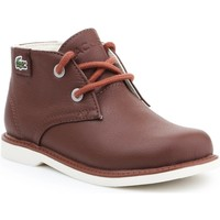 Skor Barn Boots Lacoste Sherbrook HI SB SPC 7-30SPC201177T brown