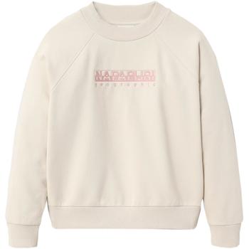 textil Dam Sweatshirts Napapijri NP0A4EOG Vit
