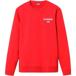 textil Herr Sweatshirts Napapijri NP0A4EHR Röd