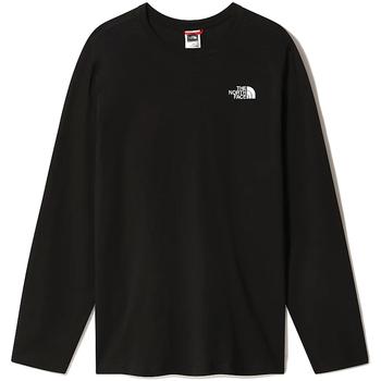 textil Herr Långärmade T-shirts The North Face NF0A493L Svart