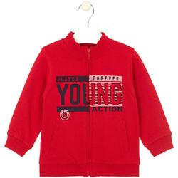 textil Barn Sweatshirts Losan 025-6651AL Röd