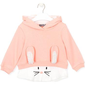 textil Barn Sweatshirts Losan 026-6024AL Rosa