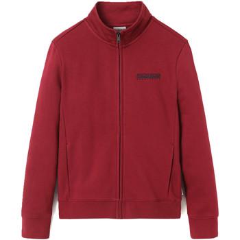 textil Herr Sweatshirts Napapijri NP0A4EN9 Röd